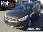2015 Hyundai Accent GL Hatchback Auto One Owner, Heated Front Seats, Great on Fuel