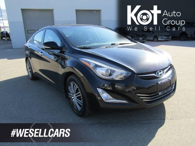 2015 Hyundai ELANTRA LIMITED! FULL LOAD! LEATHER! NAV! SUNROOF! BACKUP CAM! HEATED SEATS! Kelowna BC