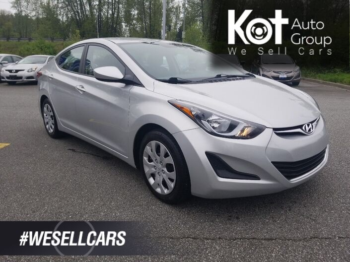 2015 Hyundai Elantra 4dr Sdn Auto GL. No accidents! Heated seats! Heated mirrors! Kelowna BC