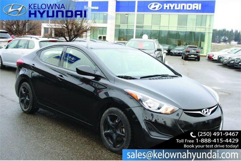 2015 Hyundai Elantra GL Heated Seats, Bluetooth Kelowna BC