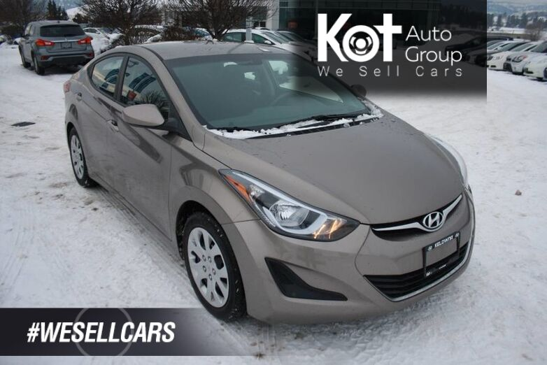 2015 Hyundai Elantra GL No accident, Bluetooth, Heated seats Kelowna BC