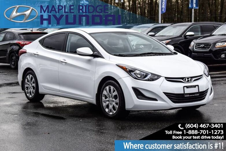 2015 Hyundai Elantra GL, Power Windows , Heated Seats, Blue Tooth Maple Ridge BC