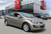 2015 Hyundai Elantra L, Manual, No Accidents, Low Km's, Fuel Efficient