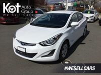 Hyundai Elantra L Manual! One Owner, No Accidents, Low Km's! 2015