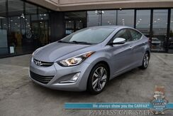 2015_Hyundai_Elantra_Limited / Automatic / Front & Rear Heated Leather Seats / Bluetooth / Back Up Camera / Air Conditioning / Cruise Control / Power Windows Locks & Mirrors_ Anchorage AK