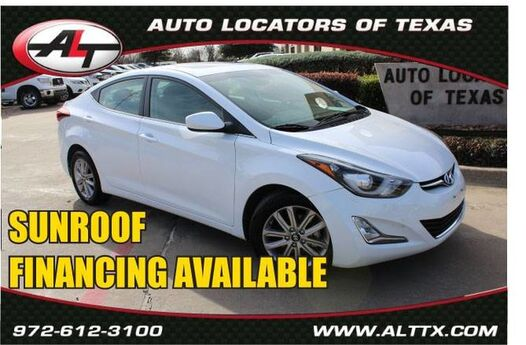2015 Hyundai Elantra Limited with POWER SUNROOF Plano TX