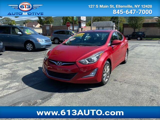 2015 Hyundai Elantra SE 6AT Ulster County NY