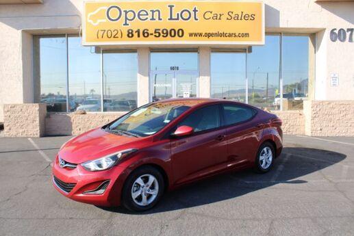 2015 Hyundai Elantra SE 6AT Las Vegas NV