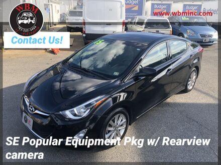 2015_Hyundai_Elantra_SE w/ Popular Equipment Pkg_ Arlington VA