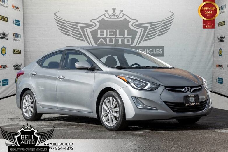 2015 Hyundai Elantra Sport, SUNROOF, HEATED SEATS, BLUETOOTH, VOICE COMMAND Toronto ON