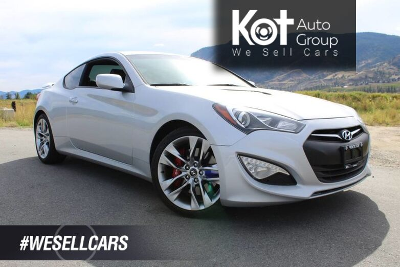2015 Hyundai Genesis Coupe GT, R-Spec, Very Low Km's, Manual Kelowna BC