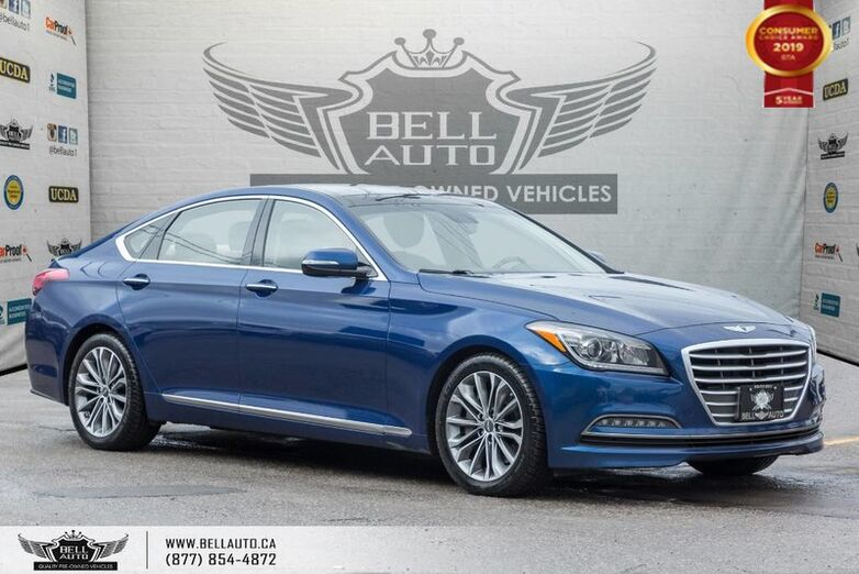 2015 Hyundai Genesis Sedan Luxury, AWD, NO ACCIDENT, NAVI, REAR CAM, B.SPOT Toronto ON