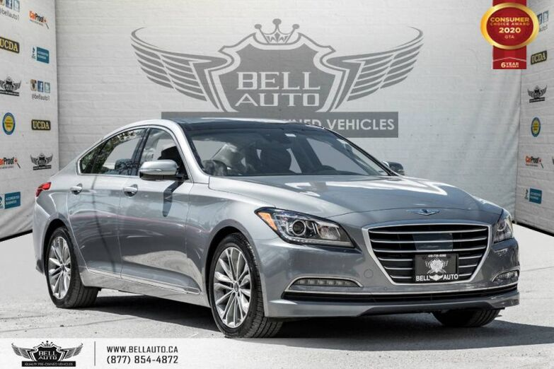 2015 Hyundai Genesis Sedan Technology, NO ACCIDENT, AWD, NAVI, REAR CAM, LANE DEP Toronto ON