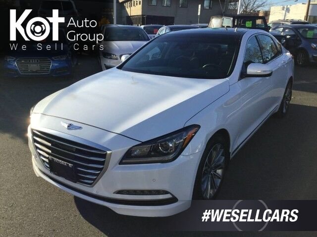 2015 Hyundai Genesis Sedan Technology One Owner! Leather, Navigation, Panoramic Sunroof! Victoria BC