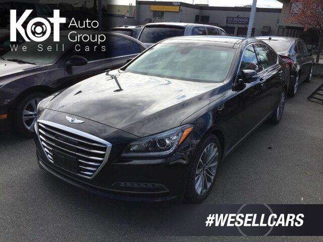 2015 Hyundai Genesis Sedan Technology Victoria BC