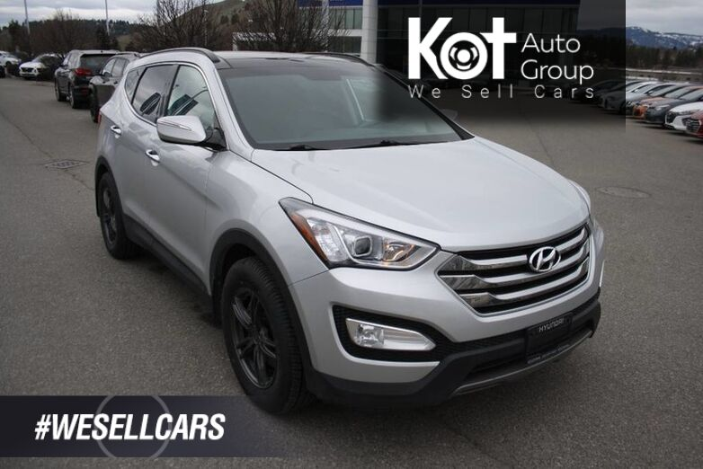 2015 Hyundai Santa Fe Limited HEATED & COOLED SEATS! PANO-ROOF! BACKUP CAMERA!LEATHER! PUSH BUTTON START! Kelowna BC