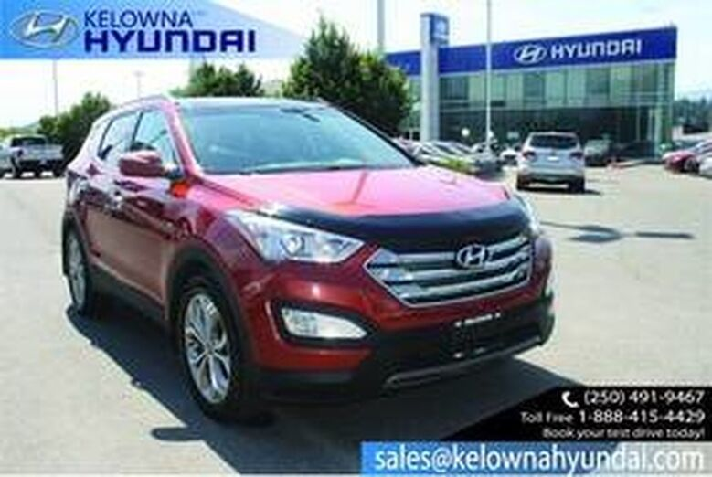2015 Hyundai Santa Fe Sport LIMITED Leather, nav Sunroof, Back up cam Penticton BC