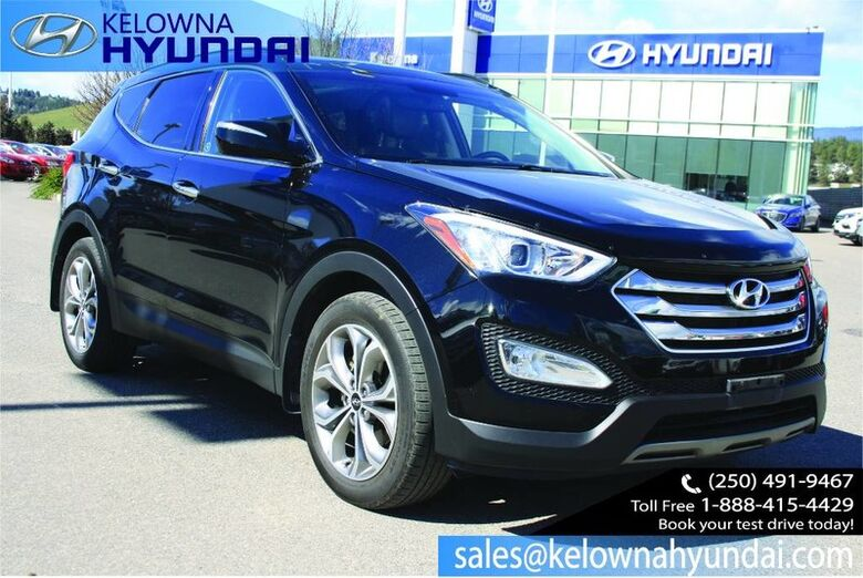 2015 Hyundai Santa Fe Sport Limited Navigation,Leather, Sunroof, Backup cam Kelowna BC