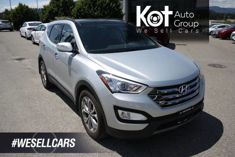 2015 Hyundai Santa Fe Sport Limited SUNROOF !NAVIGATION! LEATHER! PUSH BUTTON START! HEATED AND COOLED SEATS! Penticton BC