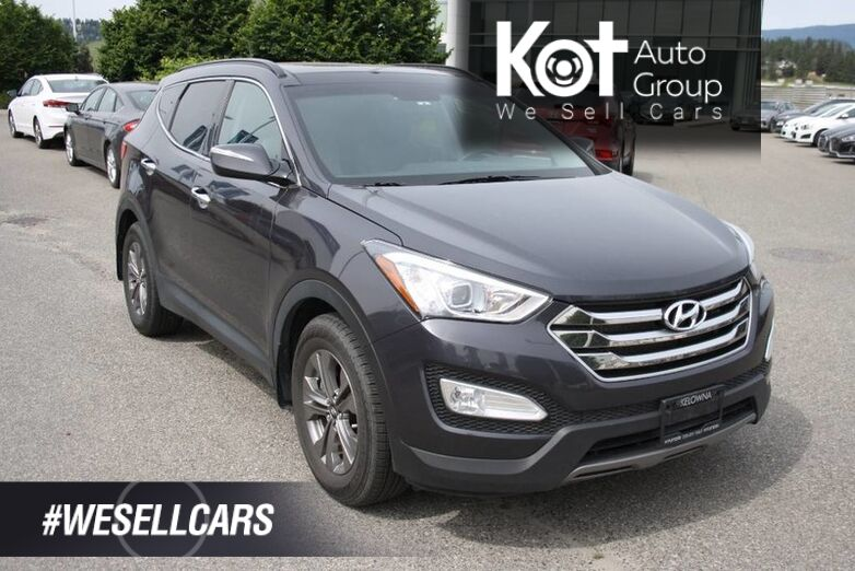 2015 Hyundai Santa Fe Sport Luxury NO ACCIDENT! SUNROOF! LEATHER! Push button start. Kelowna BC