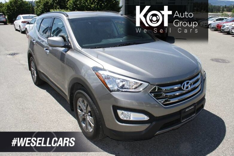 2015 Hyundai Santa Fe Sport Premium ONE OWNER! LOW KMS! HEATED SEATS & WHEEL! POWER DRIVER'S SEAT! BLUETOOTH! Kelowna BC