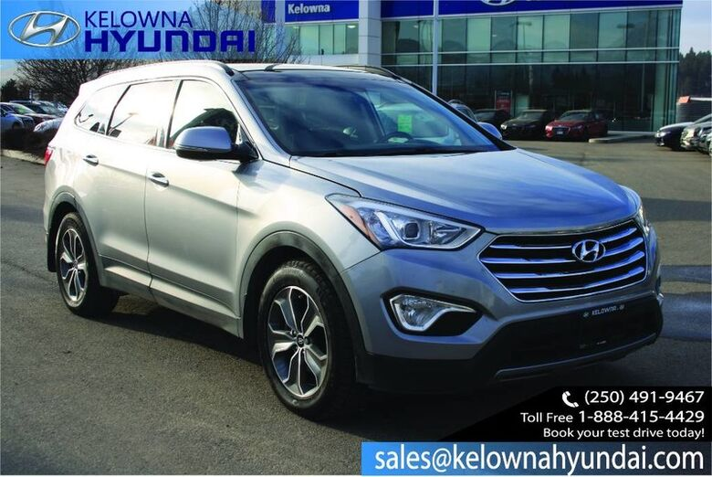 2015 Hyundai Santa Fe XL Luxury Bluetooth, Heated seats, Leather, Sunroof Kelowna BC