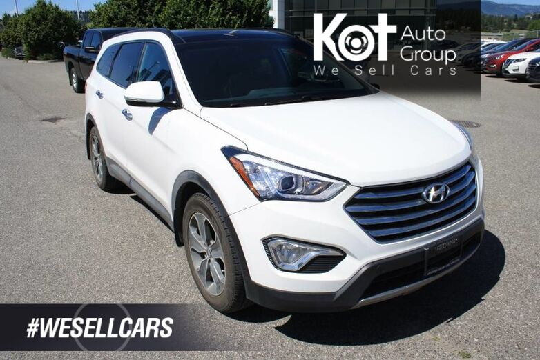 2015 Hyundai Santa Fe XL Luxury NO ACCIDENT! LEATHER! SUNROOF! POWER SEAT! HEATED SEATS ! Kelowna BC