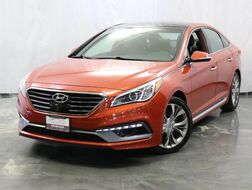 2015_Hyundai_Sonata_2.0T Limited Loaded W/ Panoramic Roof / Navigation System / Drive Assist / Bluetooth / Push Start / Rear View Camera_ Addison IL