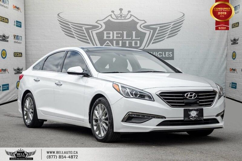 2015 Hyundai Sonata 2.4L Limited, NO ACCIDENT, NAVI, BACK-UP CAM, PANO ROOF, BLIND SPOT Toronto ON