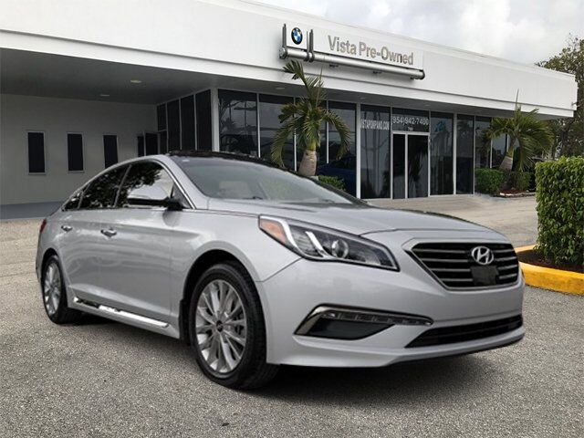 2015 hyundai sonata 2 4l limited pompano beach fl 20511390. Black Bedroom Furniture Sets. Home Design Ideas