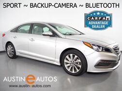 2015_Hyundai_Sonata 2.4L Sport_*AUTOMATIC, BACKUP-CAMERA, TOUCH SCREEN, HEATED SEATS, STEERING WHEEL CONTROLS, ALLOY WHEELS, BLUETOOTH PHONE & AUDIO_ Round Rock TX