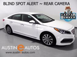 2015_Hyundai_Sonata 2.4L Sport_*BLIND SPOT ALERT, BACKUP-CAMERA, LEATHER, HEATED SEATS, TOUCH SCREEN, BLUETOOTH_ Round Rock TX