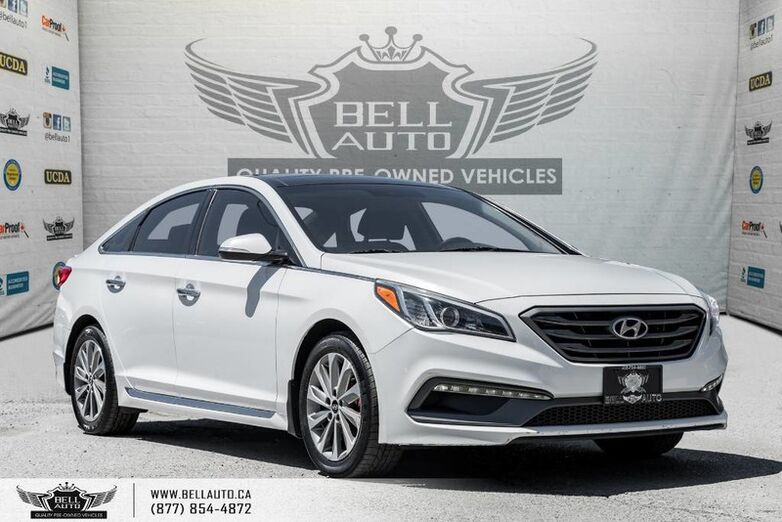 2015 Hyundai Sonata 2.4L Sport Tech, NAVI, REAR CAM, B.SPOT, PANO ROOF Toronto ON
