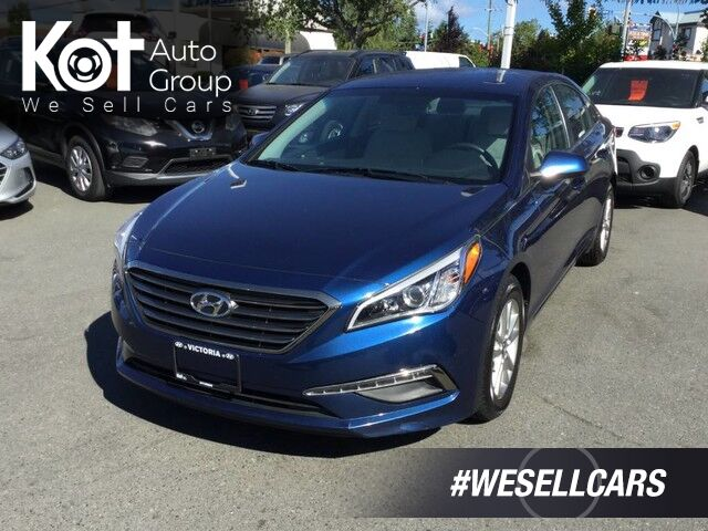 2015 Hyundai Sonata GL Backup Camera, Keyless Entry, Heated Front Seats Victoria BC