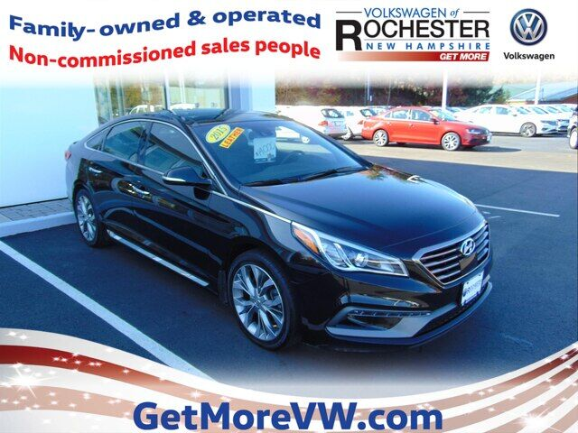2015 Hyundai Sonata Limited 2.0T w/Gray Accents Rochester NH