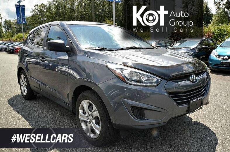 2015 Hyundai TUCSON GL AWD! 1 OWNER! LOCAL UNIT! BLUETOOTH! HEATED SEATS! Kelowna BC