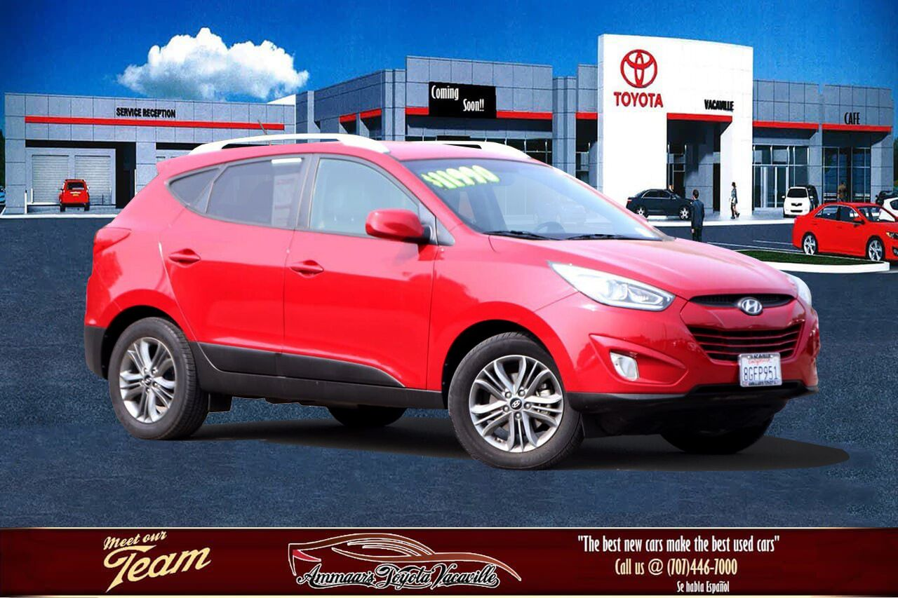 2015 Hyundai TUCSON Limited Sport Utility Vacaville CA
