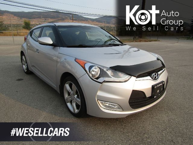 2015 Hyundai VELOSTER SPORT EDITION! MANUAL! RARE UNIT! SPORTY DRIVE! 1 OWNER! LOCALLY OWNED! BLUETOOTH! Kelowna BC