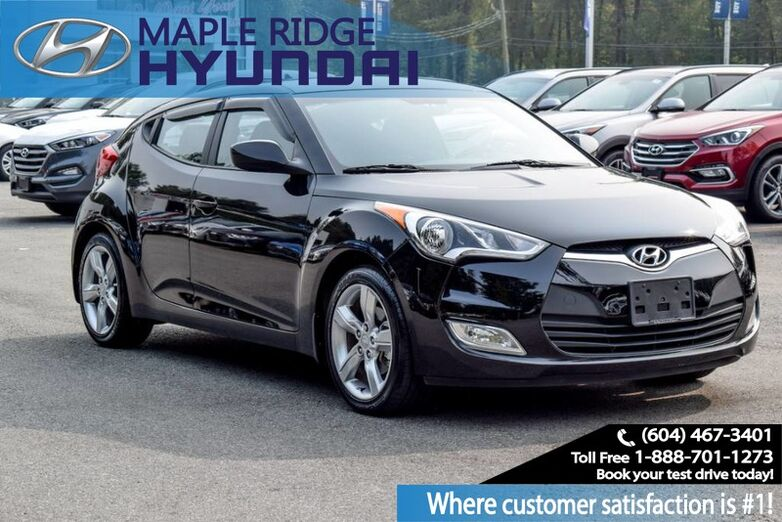 2015 Hyundai Veloster 3dr Cpe Man SE Maple Ridge BC