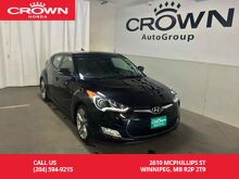 2015_Hyundai_Veloster_3dr Cpe w/Tech/NO ACCIDENTS/ONE OWNER/LOW KMS/ BACK UP CAM/NAVIGATION SYS/SUNROOF/PUSH START BUTTON/REMOTE STARTER_ Winnipeg MB