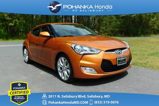 2015_Hyundai_Veloster_RE:FLEX ** Pohanka Certified 10 Year / 100,000  **_ Salisbury MD