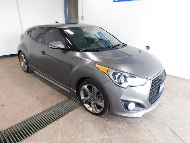 2015 Hyundai Veloster Turbo w/Matte Grey LEATHER NAVI SUNROOF *MANUAL* Listowel ON