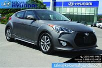 Hyundai Veloster Turbo w/Matte Grey No accident. 2015