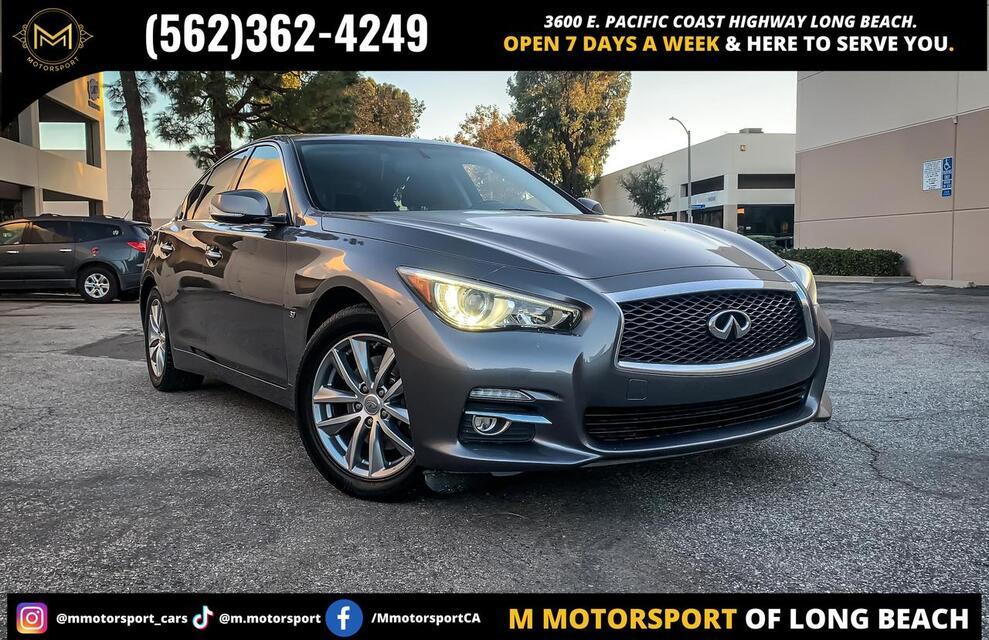 2015_INFINITI_Q50_3.7 Premium Sedan 4D_ Long Beach CA