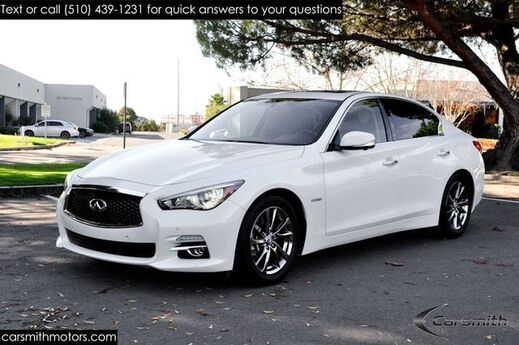 2015 INFINITI Q50 Hybrid $5,000 Deluxe Technology Package & CPO Certified! Fremont CA