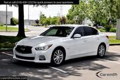 2015 INFINITI Q50 Hybrid Premium RARE $5,000 Deluxe Technology Package & CPO Certified!