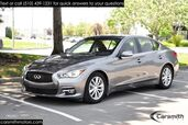 2015 INFINITI Q50 Hybrid Premium WOW 36 MPG, Zero-to-60 in 4.9 Seconds & CPO Certified!