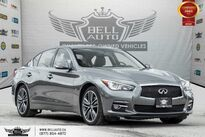INFINITI Q50 LIMITED, NO ACCIDENT, V6, NAVI, REAR CAM, SUNROOF 2015