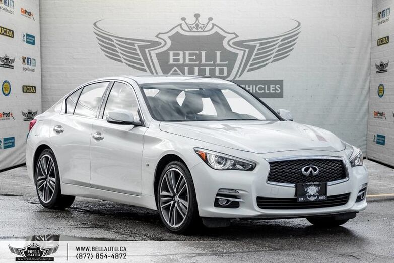 2015 INFINITI Q50 Limited, AWD, NAVI, BACK-UP CAM, MOONROOF, LEATHER Toronto ON