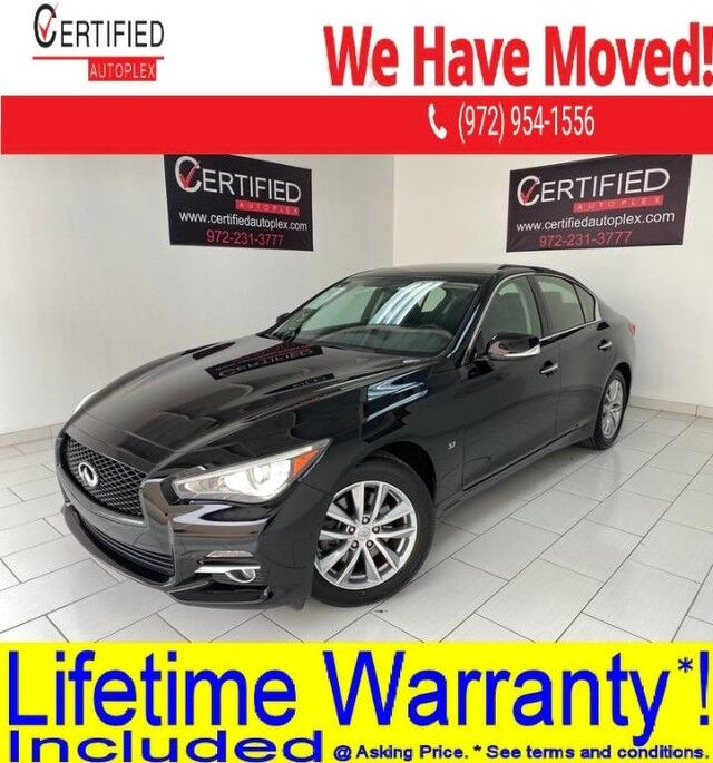 2015 INFINITI Q50 PREMIUM AWD SUNROOF REAR CAMERA POWER LEATHER SEATS KEYLESS GO BLUETOOTH Dallas TX